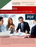 Folheto ISO 9001 2015