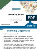 Alw Managing Stress Powerpoint