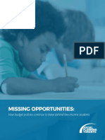SOCIAL PLANNING TORONTO report on low-income students