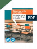Orientación Sexual e Identidad de Género en Las Aulas