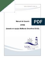 Manual de Usuario EPIRB (basado en equipo McMurdo Smartfind E5/G5)