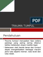 TRAUMA TUMPUL (MAYA).pptx