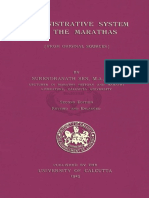 Administrative System of the Marathas