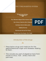 Drugs That Affect the Digestive System
