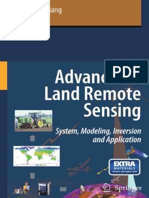 Book Advances In Land Remote Sensingpdf Remote Sensing
