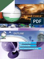 Pengantar Radar Cuaca II