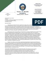 Jason Chaffetz Response Letter