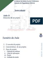 Aula 11 - Elementos de Um Projeto