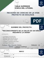 Proyecto de Biología