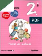 Fichas Avaliação Portugues Desafios 2º Ano