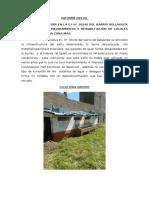 Informe Inicial y Final de Local Bellavista