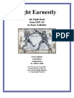 Fight Earnestly - Talhoffer's 1459 Fight Manual