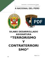 Terrorismo y Contraterrorismo (1)