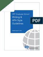 IIRP APA Guidelines