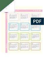 Calendário de 2015 Com Visão Geral (Seg - Dom)1