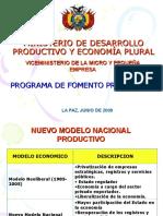 Bolivia - Ramiro Lizondo Pequeñas Grandes Empresas