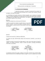 Tema Partida Doble y Ecuacion Patrimonial - Copia