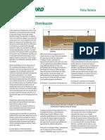 Uniformidad de Distribucion Del Agua (UD)
