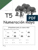Numeracion Maya 3 Grado Alumnos