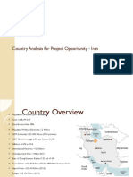 Country Analysis Iran
