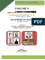 CADERNOS DE APONTAMENTOS N.º 30 - 35 (VOLUME V)