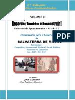 Cadernos de Apontamentos – Nº 14 - 22 (VOLUME III)
