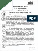 Resolucion Ejecutiva Regional Nº 262 - 2014-Gr-junin-pr