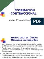 Deformacion Contraccional
