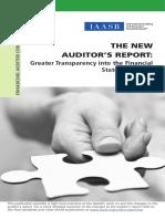 Auditor Reporting Fact Sheet