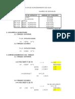 DIMENCIONAMIENTO DE REDES DE AGUA EN EDIFICACIONES