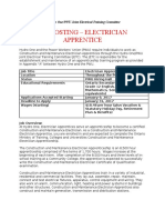 Hydro One/PWU Joint Electrical Training Committee - Hydro One Apprentice