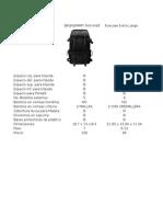 Evaluación Maletines para cámaras