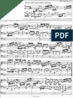Von Gott Will Ich Nicht Lassen. (BWV 658)