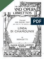 Linda Di Chamounix Libretto