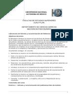Laboratorio de Síntesis y Caracterización de Polímeros Fers Cuautitlan