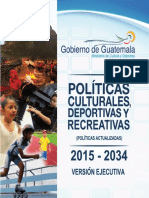 Politicas Culturales Version Ejecutiva