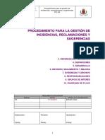 PR 09 Incidencias Reclamaciones Sugerencias 3a JLSR