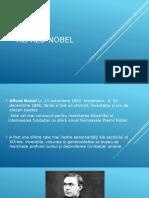 Alfred Nobel Prezentare PowerPoint