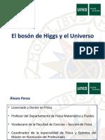 El boson de Higgs y el Universo - Presentación de la conferencia - UNED Las Tablas.pdf