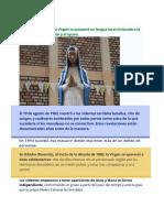Virgen Madre Del Verbo