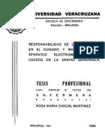 ChiguilMtzRosaMa Responsabilidad de Enfermeras Equipo Electromedico