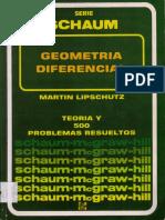 Geometría Diferencial - 1990 - Martin M. Lipschutz.pdf