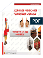 Programa de Prevencion de Accidentes de Manos