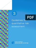 Purple Book Quantitative Risk Assessment