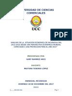 Analisis Economico de Ncaragua - Seminario de Tesis