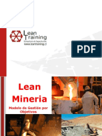 Lean Training Mineria