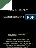 period 5-01-manifest destiny