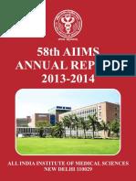 AIIMS Report English 2013-14