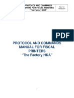 Protocol and Command Manual - Panama