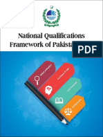 National Qualification Framework of Pakistan